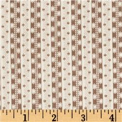 Tilly Zipper Stripe Brown