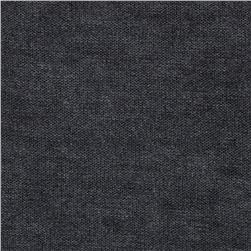 Stretch Brushed Hatchi Sweater Knit Charcoal