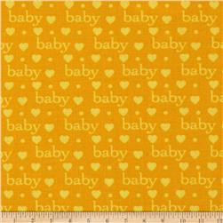 Bundle of Joy Baby Love Primary/Yellow