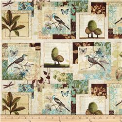 Forest Walk Birds and Nature Cream/Multi