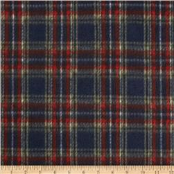 Fleece Prints Plaid Navy