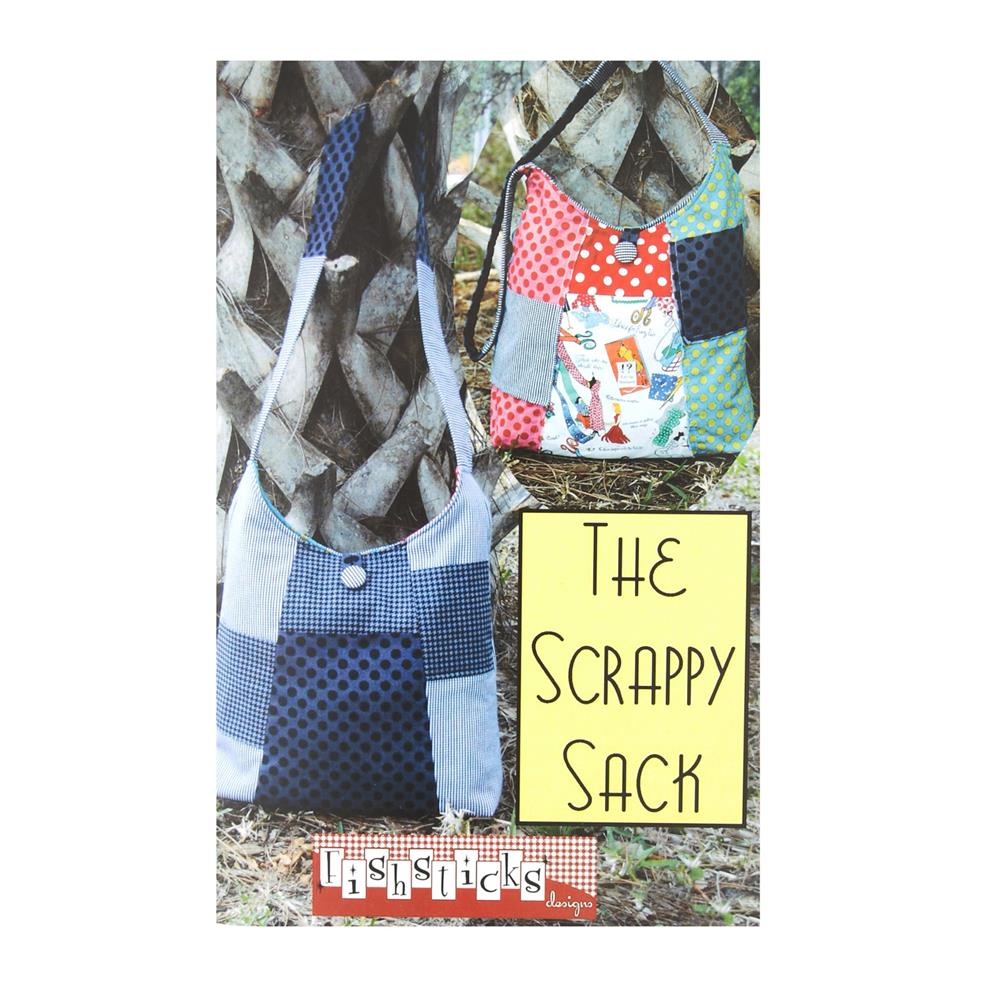 Fishsticks Scrappy Sack Pattern