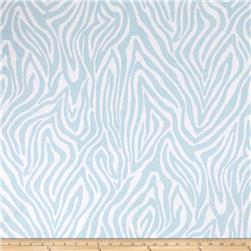 Michael Miller Baby Zoo Flannel  Mozambique Sky