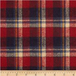 Primo Country Squire Flannel Large Plaid Blue/Red/Cream