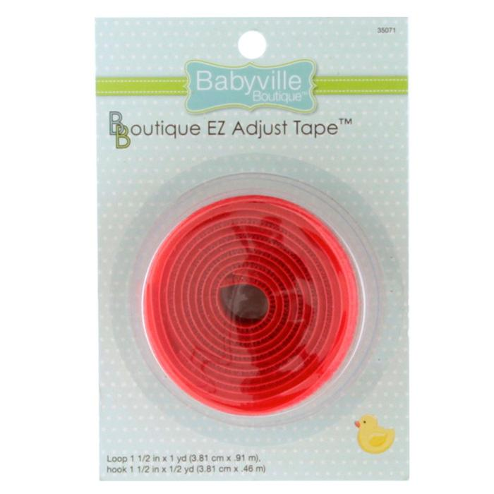 Babyville Boutique EZ Adjust Tape Red