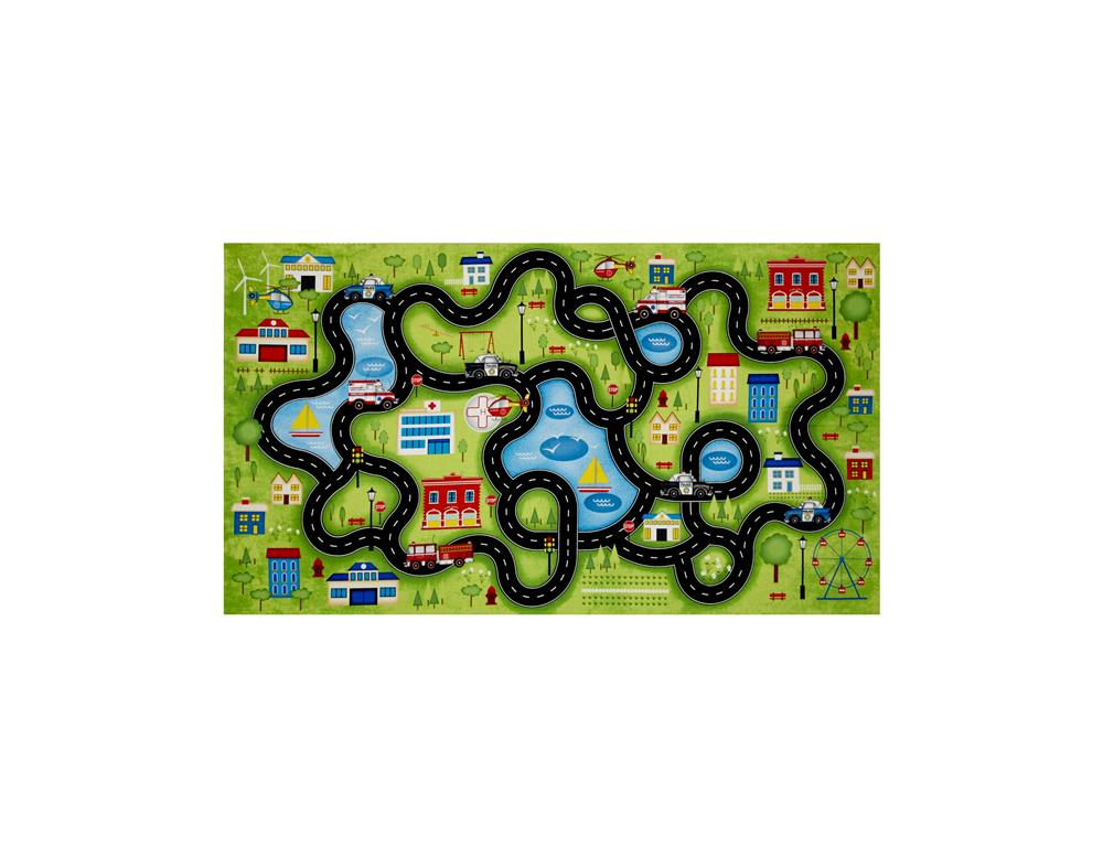 Help Is On The Way 24'' Playmat Panel Multi Fabric By The Yard