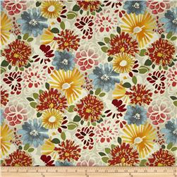 Vera Cruz Large Floral Cream Fabric
