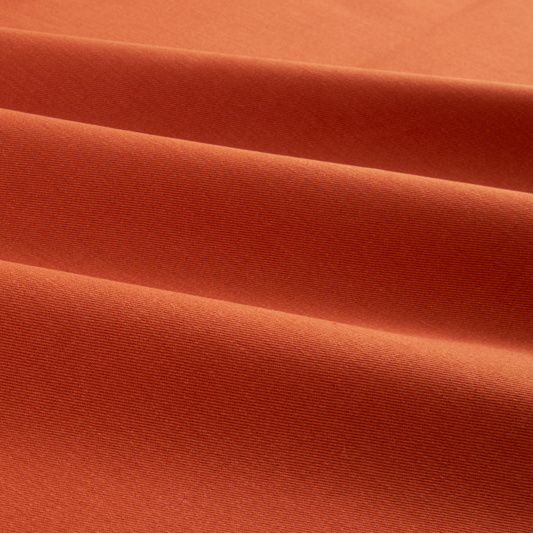 Sanded/Brushed Twill Sweet Potato Fabric by Carr in USA