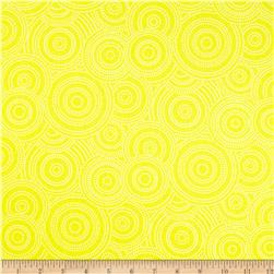 Max & Bunny Circle Dot Yellow Fabric