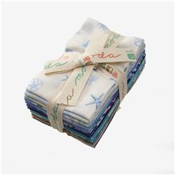 Moda Coastal Breeze Fat Eighths Bundle Multi