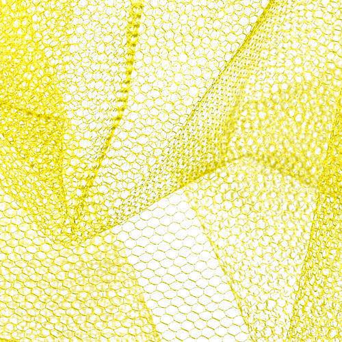 Nylon Net Lemon Yellow