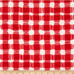 Mad For Melon Mod Gingham Red