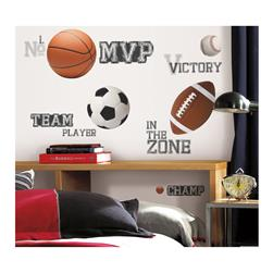 All Star Sports Sayings Wall Decals