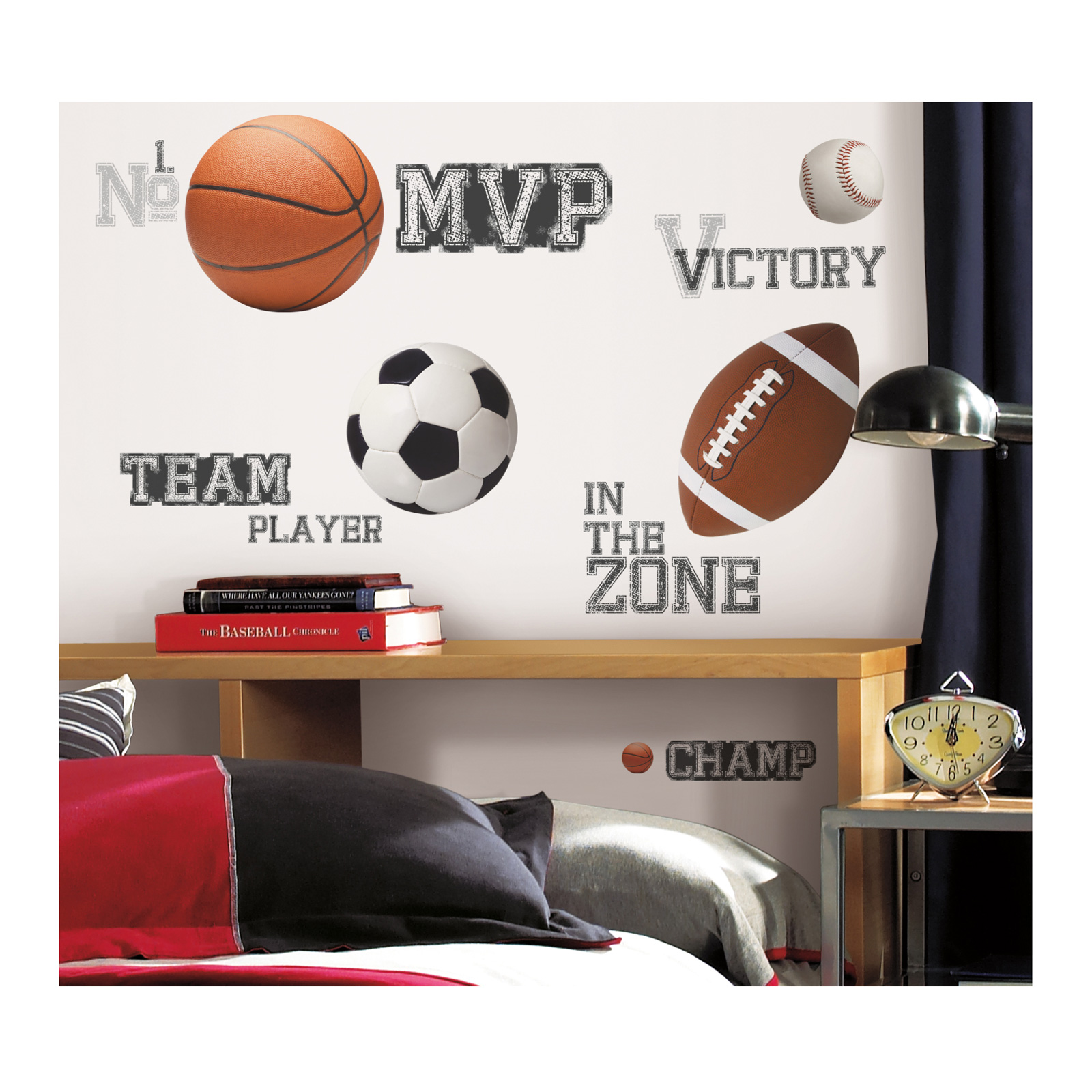 All Star Sports Sayings Wall Decals by Stardom Specialty in USA