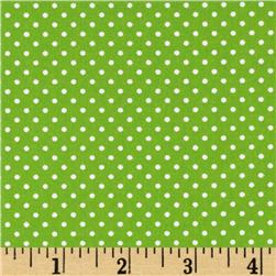 Pimatex Basics Mini Dots Lime Fabric