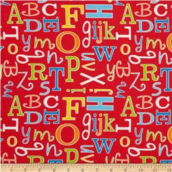 ABC Safari Letter Red