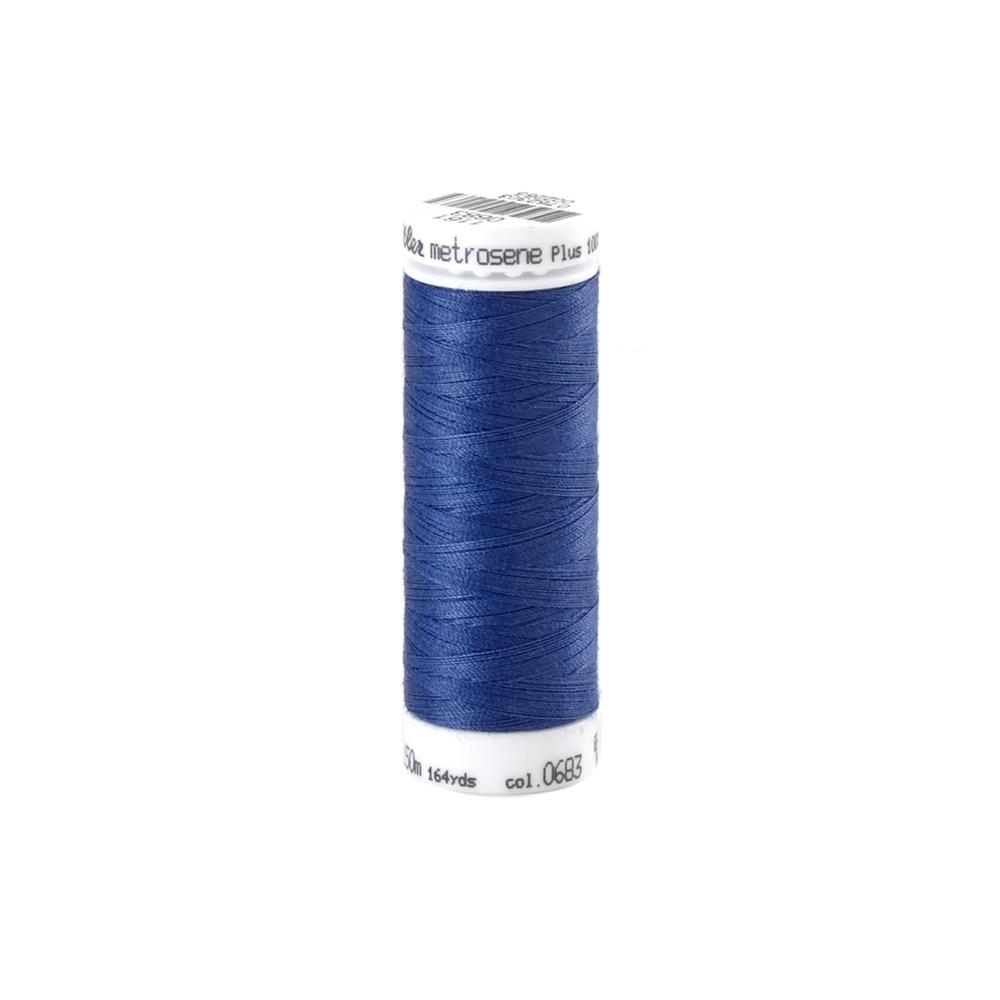 Mettler Metrosene Polyester All Purpose Thread Marine Blue