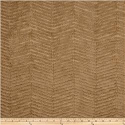 Minky Chevron Snuggle Light Mocha