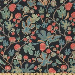 Liberty Of London Tana Lawn Alma Faded Black/Coral