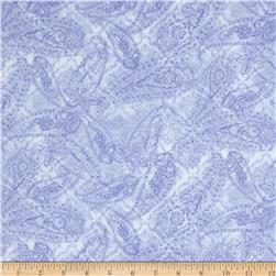 Timeless Treasures Romance Tonal Paisley Purple