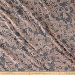 Chiffon Sketch Floral Grey Cream