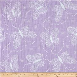 Embrace Double Gauze Flowerfly Lilac