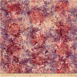 Bali Batiks Handpaints Floral Passion Tea