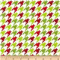 Riley Blake Medium Houndstooth Christmas