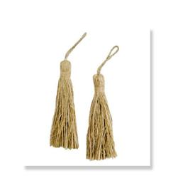 Rope Fiber Tassel Natural
