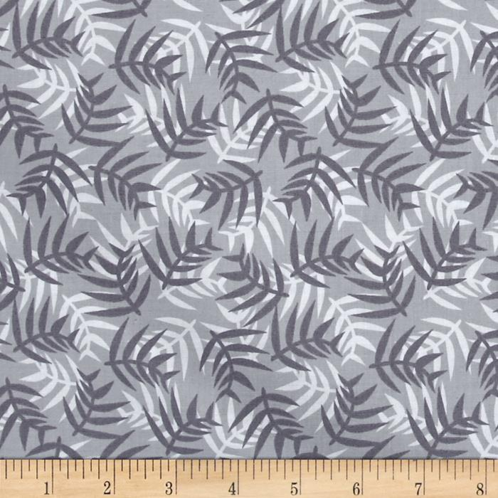 Jungle Ferns Grey