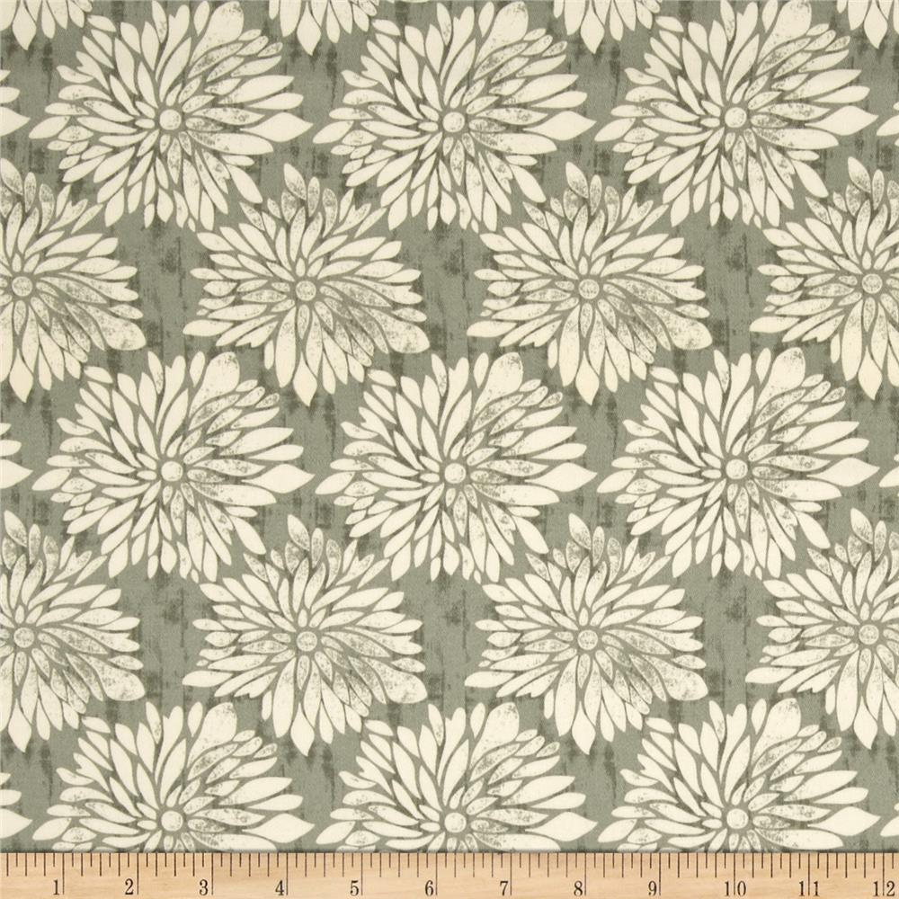 Ty Pennington Home Decor Sateen Fall 11 Dahlia Green