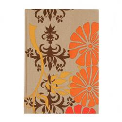 Lifestyle Fabric Covered Journal Vintage