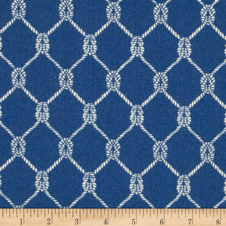 Waverly Sun N Shade Square Knots Marine Discount