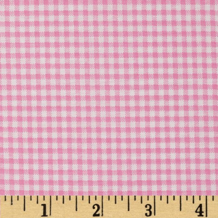 Basic Training Small Gingham Pink/White