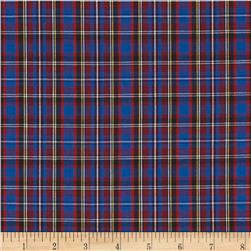 Tartan Plaid Red/Royal