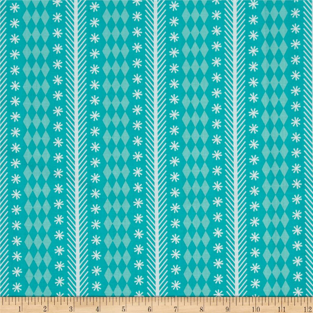 Riley blake nutcracker christmas stripe aqua discount for Fabric purchase