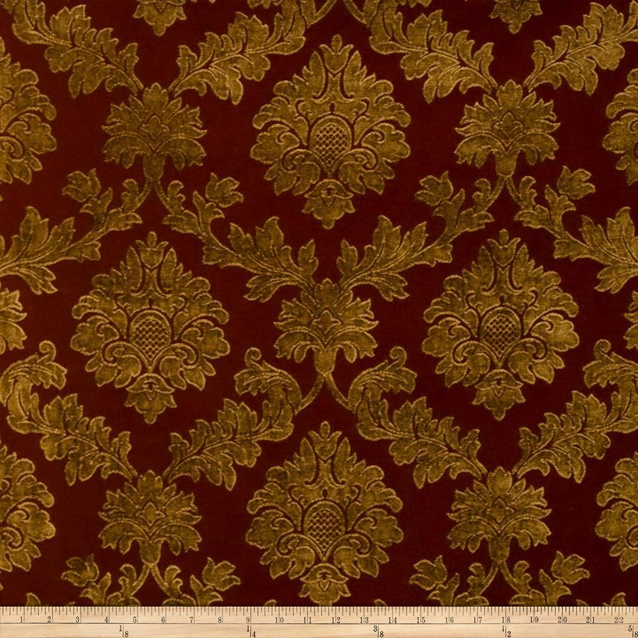 Lillian August Bramley Jacquard Chenille Pomegranate