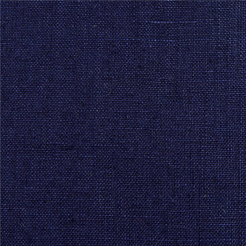 100% European Linen Suiting New Indigo