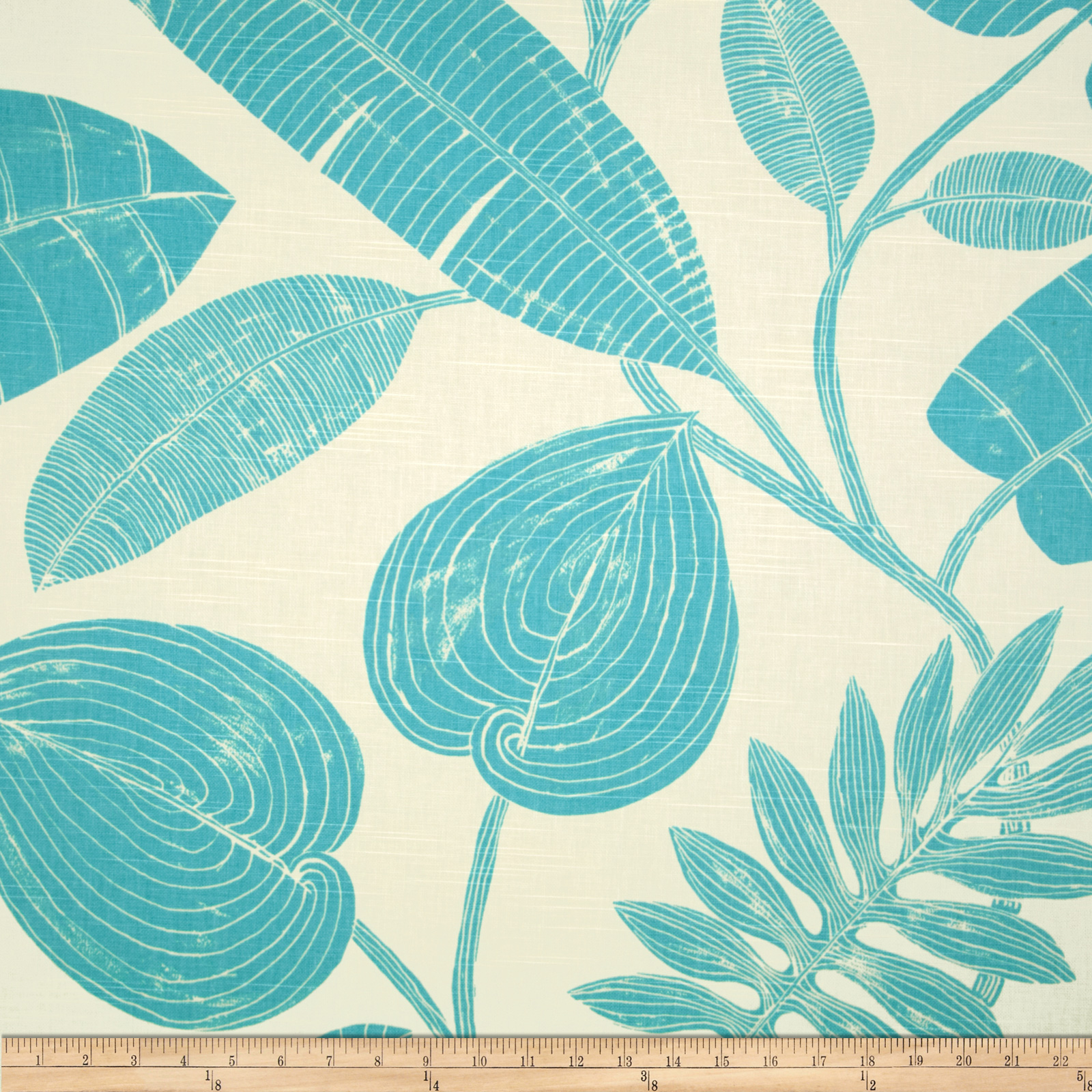 Home Accents Fuji Slub Aegean Fabric