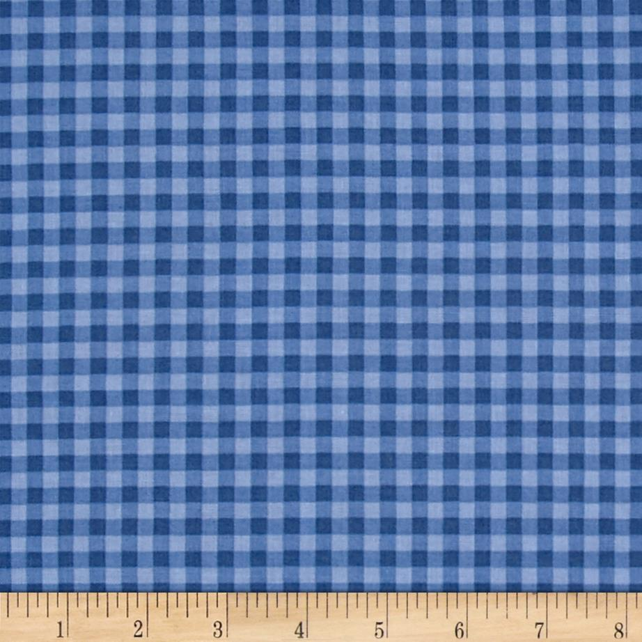Stitcher's Garden Small Gingham Indigo