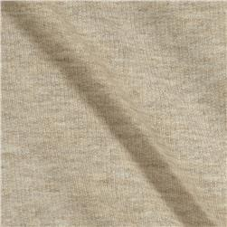 Designer Stretch Blend French Terry Knit Natural