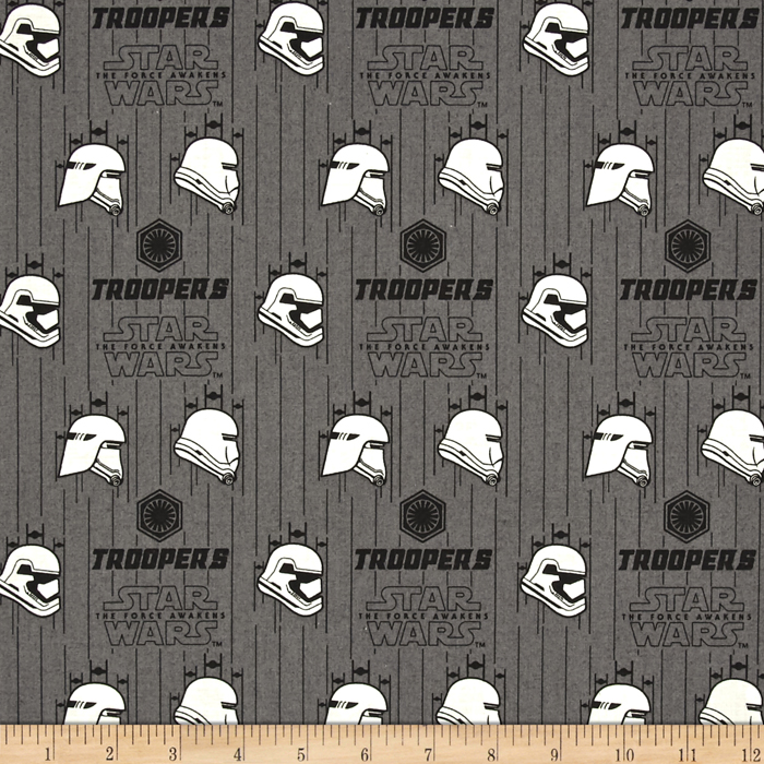 Star Wars The Force Awakens Storm Trooper Iron Fabric 0418938