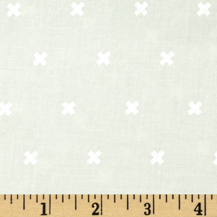 Image of Cotton + Steel XOXO Ghost Fabric