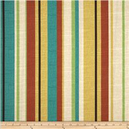Maco Indoor/Outdoor Wyken Stripe Scarlet