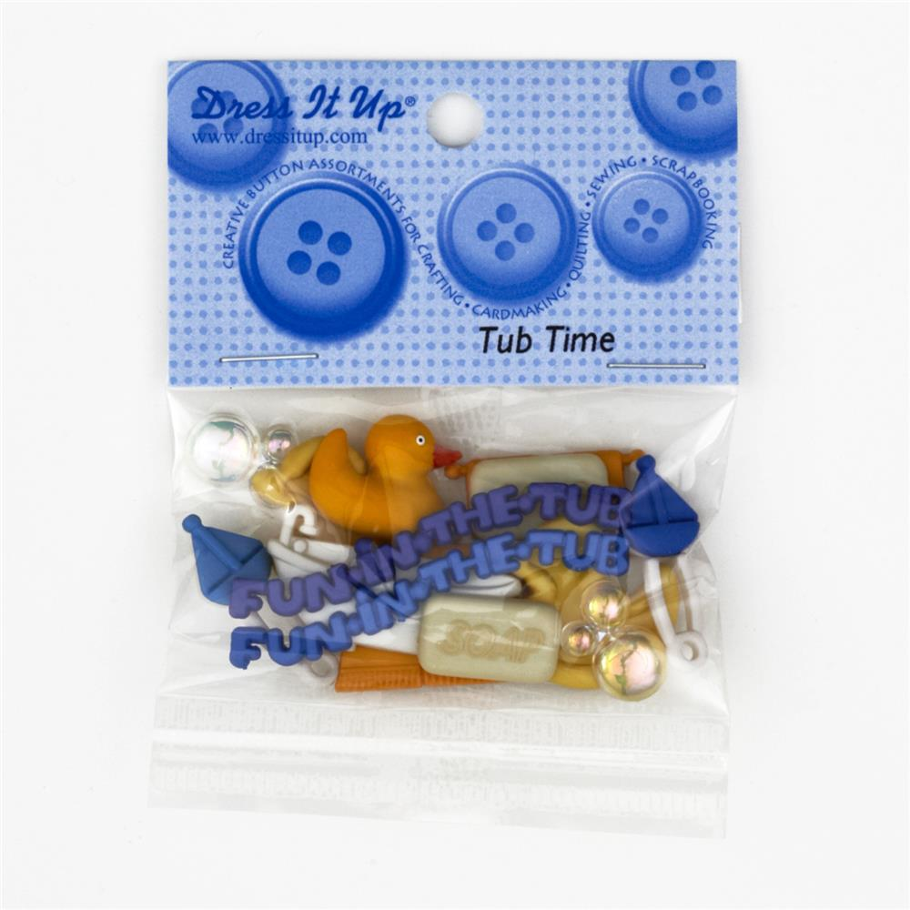 Dress It Up Embellishment Buttons  Tub Time