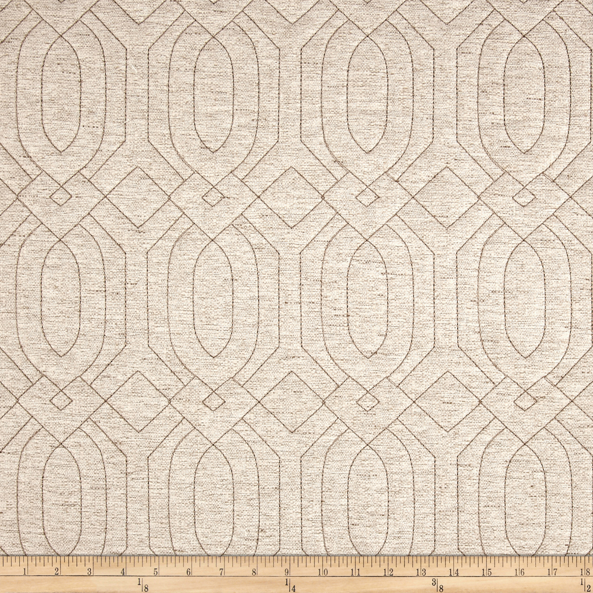 Adf Frescanti Quilted Upholstery Natural Fabric