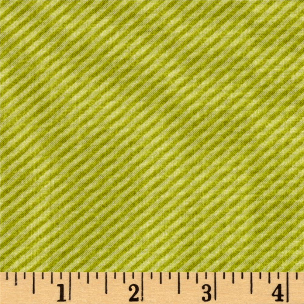 Curiosities Diagonal Stripe Pistachio