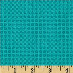 Who's Who Solid Grid Turquoise