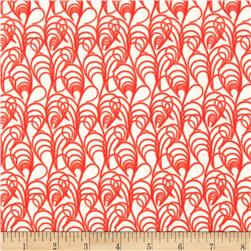 Art Gallery Chic Flora Interlaced Rouge