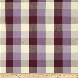 Bartow Buffalo Check Plaid Woven Plum